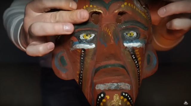 The devils mask