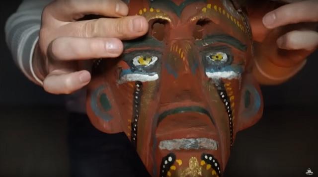 The devils mask
