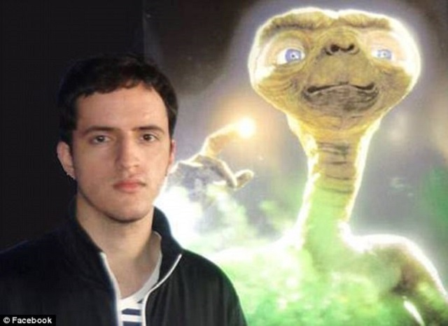 Bruno Borges with ET