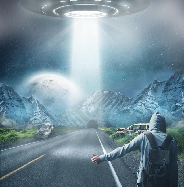 UFO hitchhiker