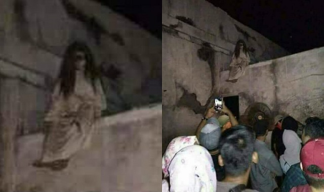 Banshee ghost captured on camera in India