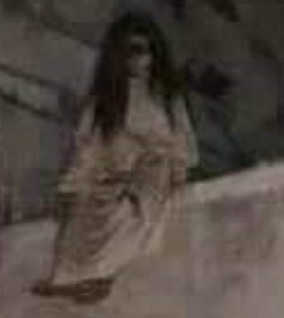 Banshee fantôme capturé sur une photo