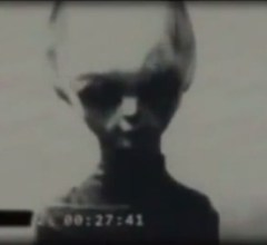 Grey alien footage from Russia 1960's