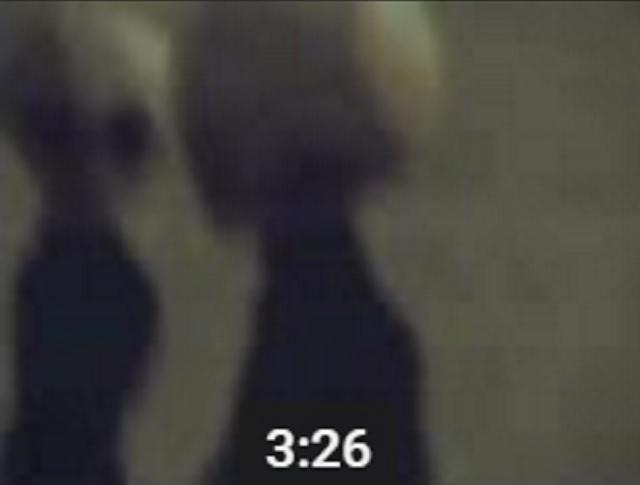 Grey aliens in Russia footage