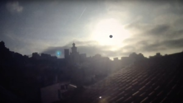 Strange sun flare recorded by webcam in Spain