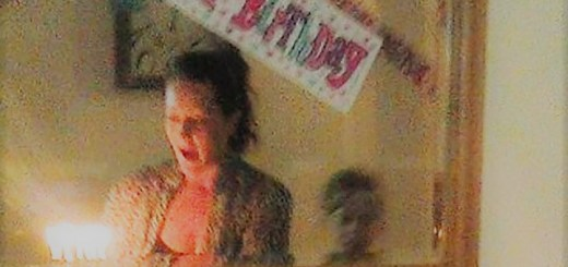 Reflection of ghost boy captured during girls birthday party