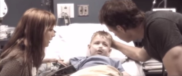 Jeremy at hospital