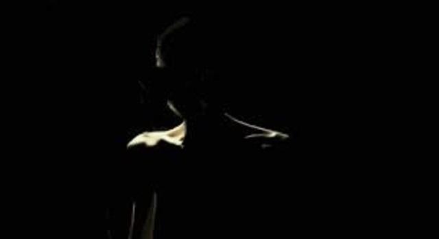 Shadow demon in shadows