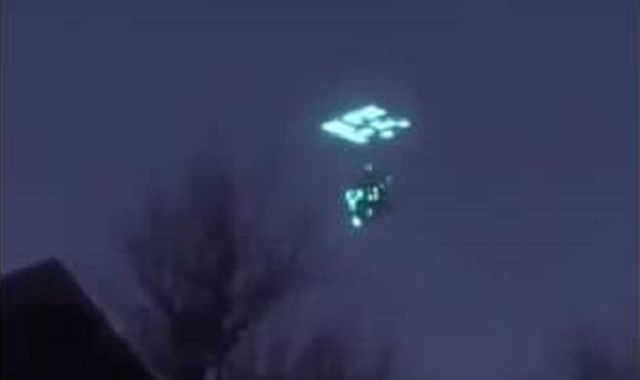 UFO caught with cell phone Sonora, Mexico