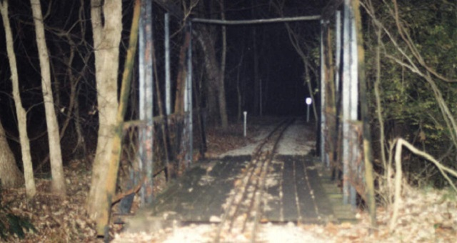 Zombie Road Missouri railroad tracks