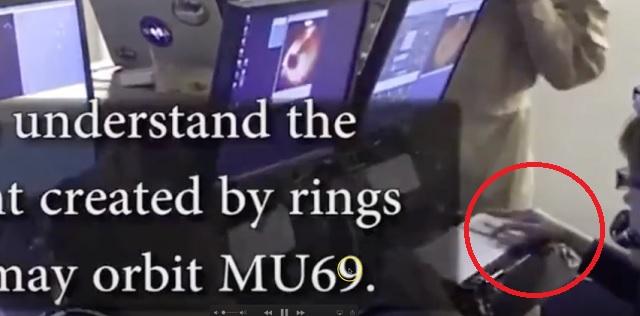 Alien hand at SOFIA NASA's 747
