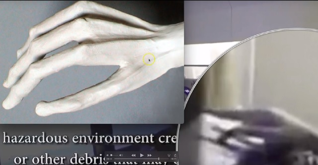 Alien hand comparison
