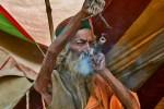 Amar Bharati arm raised