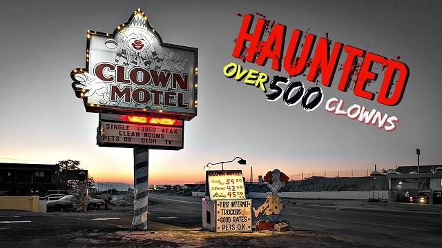 Clown hotel haunted