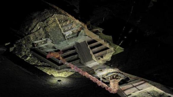 Pyramid underground underworld enterance