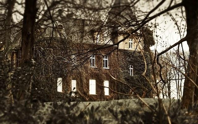 Scottish haunted house