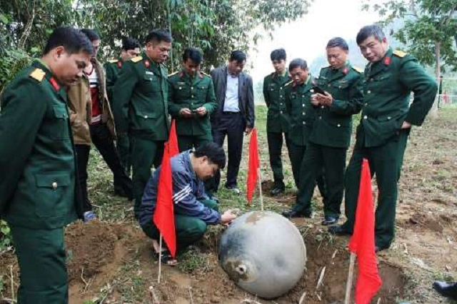 Vietnam sphere found