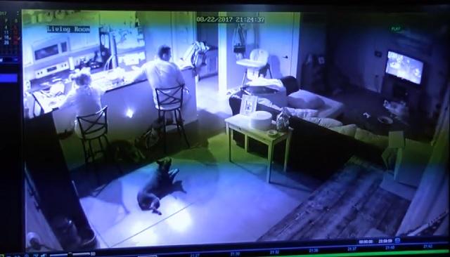 KRQE News 13 Brenna Hernandez et sa famille voient un fantôme