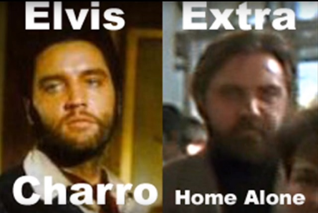 Elvis Home Alone as extra
