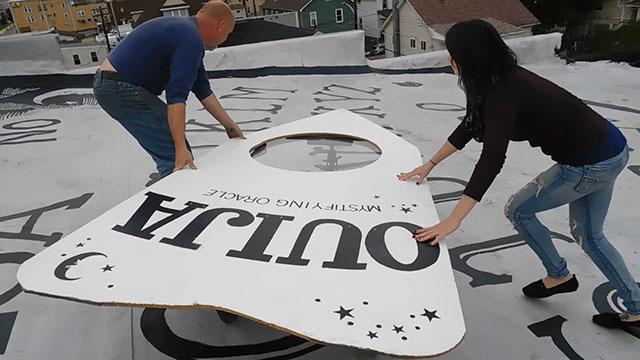 World's largest Ouija board