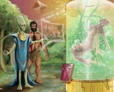 Alien DNA in humans