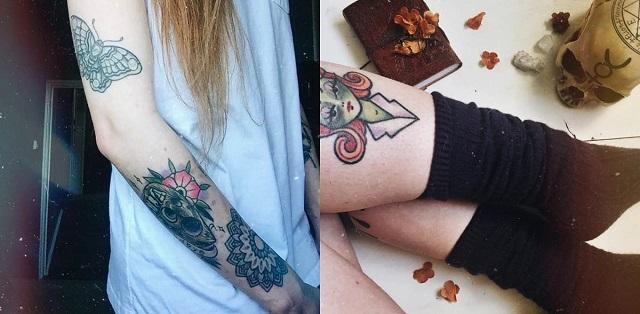 Harmony Nice paranormal babysitting tattoos
