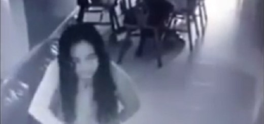 Demonic mad maid captured on camera