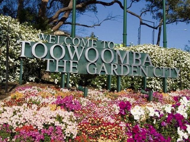 Toowoomba sign