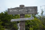 Bennington Triangle sign
