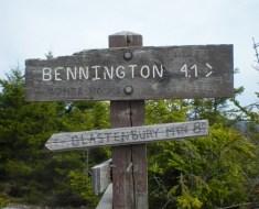 Bennington Triangle sign