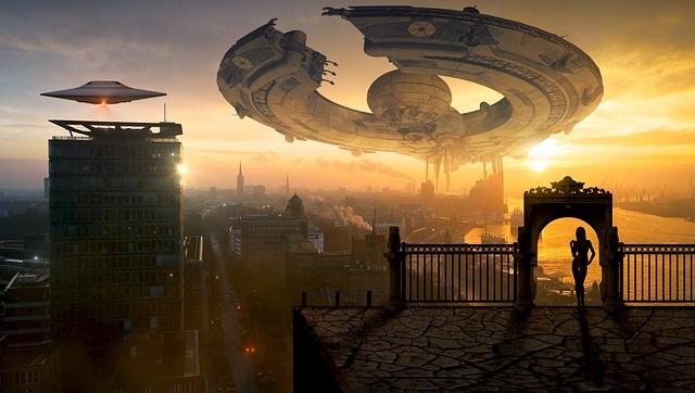 Future existence aliens are robots