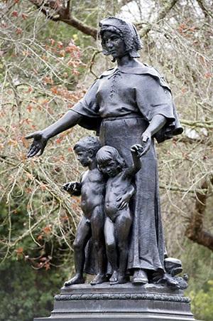 Pioneer Mother in Golden Gate Park
