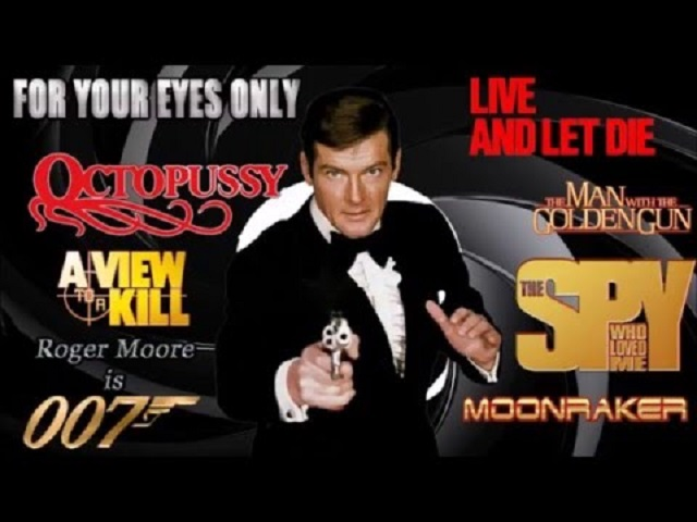 Roger Moore 007 movies