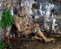 Rope man mummy found at Bristol Bridge