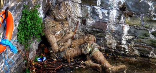 Mysterious rope man mummy left behind at Bristol Bridge