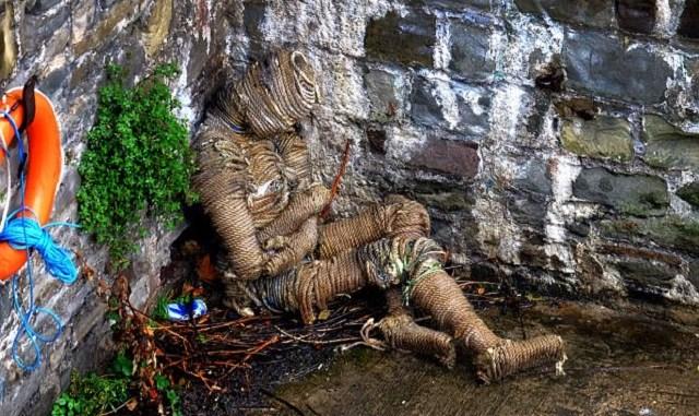 Rope man mummy found at Bristol Bridge