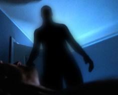 Shadow Man appears inside mans house