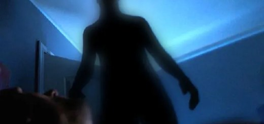 Inter-Dimensional Shadowy Figure Appears Inside Man's House
