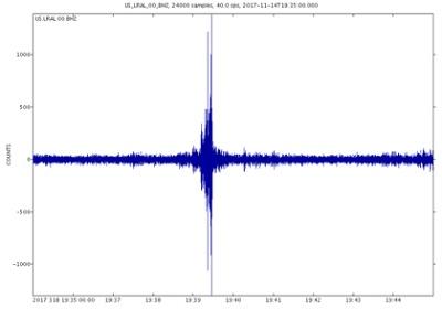 NASA sound graph sonic boom