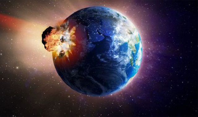 Image: Nibiru hits Earth from The Bern Report