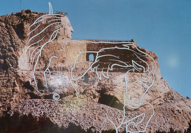 Completed project Crazy Horse monument vision