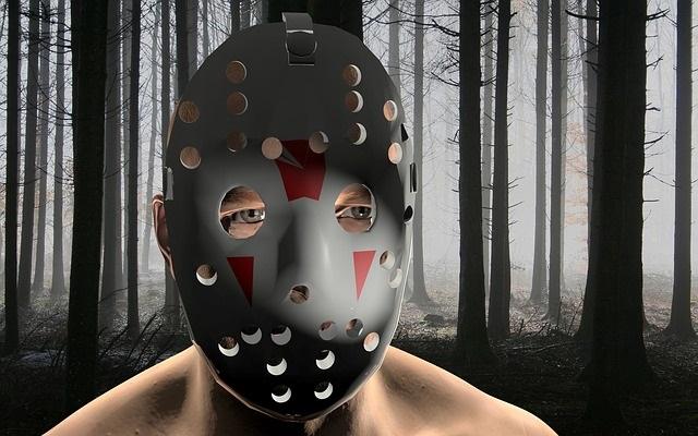 Hockey mask thug