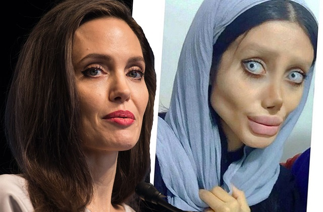 Image: Angelina Jolie and Sahar Tabar