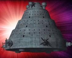 UFO flying machine inside Vault B India