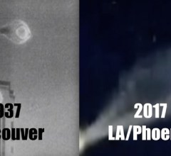 UFOs comparable 1937 and 2017