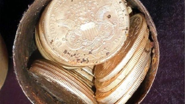 Gold coins in cans found backyard Nevada