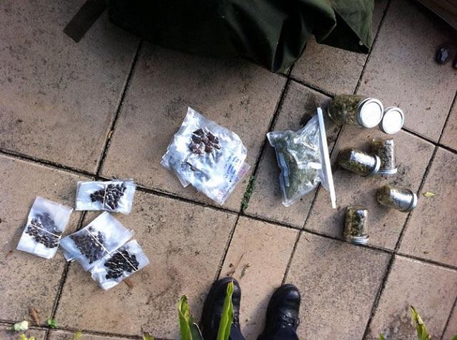 Mack Reed marijuana found under hot tub