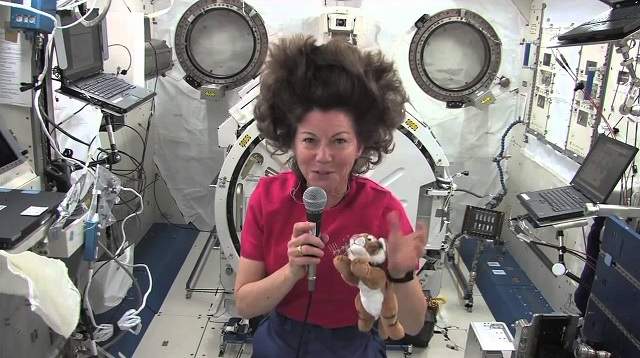 NASA woman Astronaunt of Expedition 26
