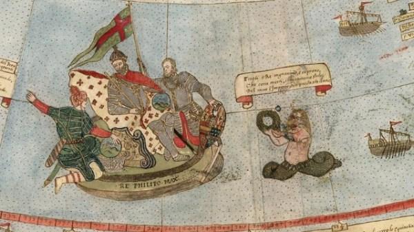 mermen Ancient Early World Map