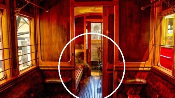 Belfast ghosts on train